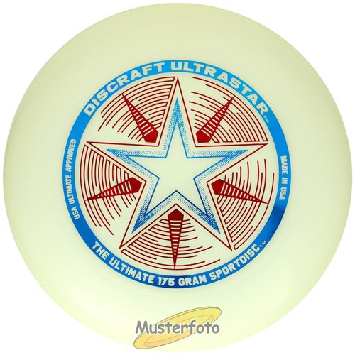 Discraft UltraStar Night Glow