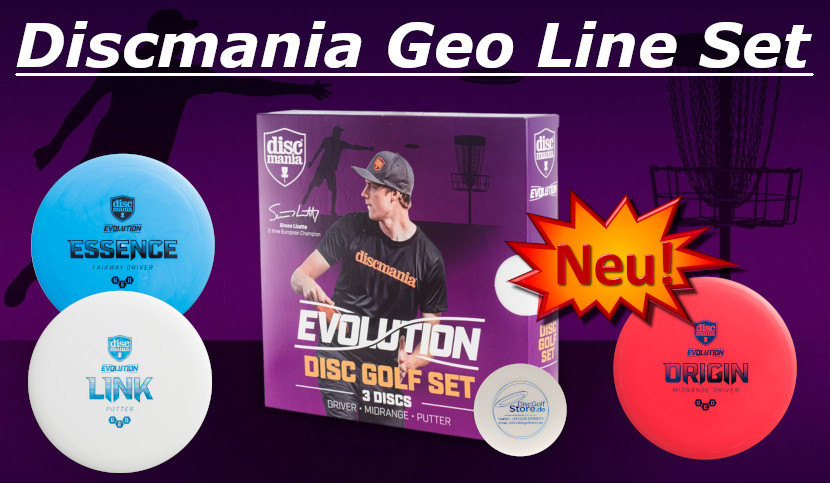Discmania Evolution Set